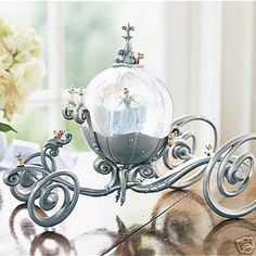 disney snowglobes cinderella - Google Search