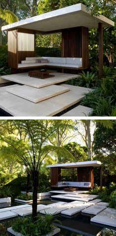 By James Wong & David Cubero Contemporary Garden Rooms, Backyard Studio, Desert Homes, Modern Patio, Outside Living, Outdoor Areas, Gazebo, Tourism, Living Spaces