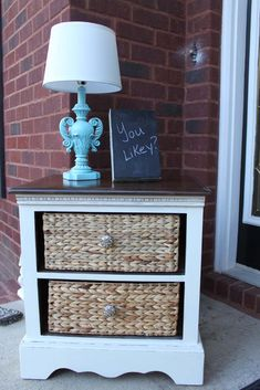 Upcycled chest of drawers ~ Southern Revivals