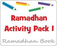 TJ Ramadan: Ramadan Activity Packs from Umm Maimoonah's Journal