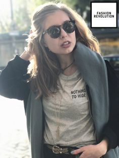vegan fra lippo lippie on the lips Slow Fashion, Fashion Fashion, Vintage Fashion, Fashion Looks, Revolution, Indie Brands, Everyday Outfits, Sustainable Fashion, Shirts