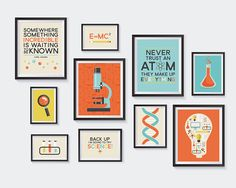 Science Printable, Nursery Printables, Chemistry Gallery Wall, Learning, School, Atom, Scientific, Funny Art, Educational, INSTANT DOWNLOAD Art & Collectibles  Prints  Digital Prints  ready to print art  science theme  science decor  science printables science nursery  chemistry printable  science quote  science print  scientists gift  physics poster  science prints kids science room  nursery gallery set