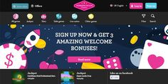 Winning Room150 Free Spins and 100% Match Bonus offer for every new player!