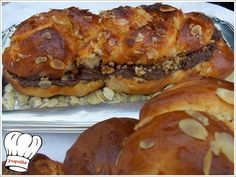 Food recipes with step by step photos from preparation,ideal for novice cookers Greek Recipes, My Recipes, English Food, English Recipes, Cheesesteak, Bagel, Breakfast Recipes, French Toast, Sweets