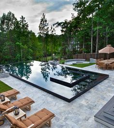 Pool design by Shane LeBlanc, Selective Designs