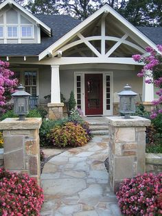 .I always thought our front porch roof should have gone up and open like this not a shed roof like we have....