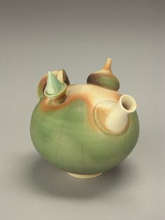 Geoffrey Swindell by American Museum of Ceramic Art, via Flickr~~~would love to see how he does his glazing, amazing techinque..