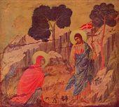 Christ appears Magdalena