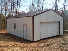 """Building Dimensions: 24' W x 32' L x 10' 4"""" H (ID# 275)  Visit: http://pioneerpolebuildings.com/portfolio/project/24-w-x-32-l-x-10-4-h-id-275-total-cost-8513  Like Us on Facebook! www.facebook.com/... Call: 888-448-2505 for any questions!"""