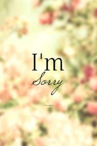 Sorry Quotes 50 I'm Sorry Quotes  50Th And Feelings