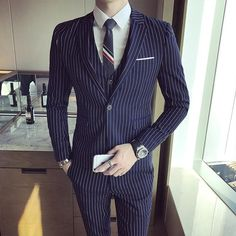Gender: MenItem Type: SuitsFront Style: FlatModel Number: Acrylic,Cotton,Wool,PolyesterBrand Name: UyukPant Closure Type: Zipper FlyStyle: F Mens Fashion Suits, Mens Suits, Men's Fashion, Business Formal, Business Casual, Blazer Suit, Suit Jacket, Vest, Three Piece Suit
