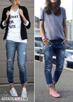 23. А остальные сказали:браслеты, джинсы, свободные майки и белые кеды