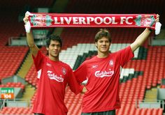 Back in 2004, Liverpool signed Spanish pair Luis Garcia and Xabi Alonso.