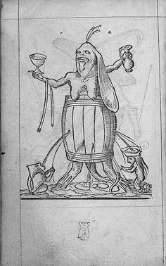 François Desprez,  f. G7 [i.e. H7] v° Dessin 120 Les Songes drolatiques de Pantagruel  A Paris : Par Richard Breton 1565 (38)