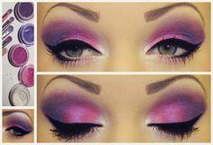"Present/Inspiration - ""Barbie"" by ~Honey-Lemonade, 2012 on deviantART Pretty Makeup, Makeup Looks, Amazing Makeup, Barbie Make-up, Barbie Unicorn, Sexy Make-up, Honey Lemonade, Purple Eyeshadow, Eyeshadow Ideas"
