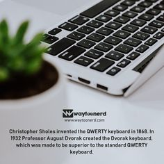 Waytoonerd – Where technology is unraveled Daily Facts, Knowledge Is Power, True Facts, New Technology, Inventions, Keyboard, Science, Education, Memes