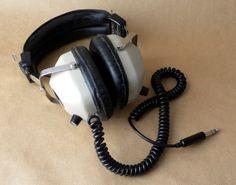 Vintage Realistic Nova Pro Headphones by FlyOn on Etsy, $25.00