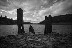 HOWDEN DAM FOUR. Howden Dam, draws people to the area, for many different reason. Tree Line, Drawing People, Photographic Prints, Cool Drawings, Landscape Photography, Monochrome, New York Skyline, Past, Peak District