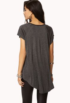 Paneled High-Low Top | FOREVER21 - 2058275185