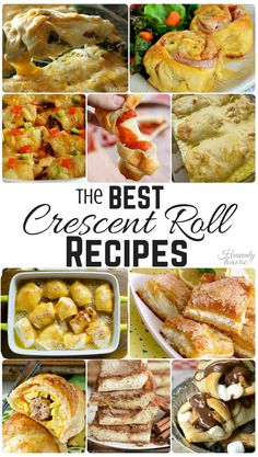 Breakfast, Lunch, Dinner, or Dessert! There's a Crescent Roll Recipe for that!