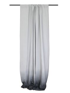LOVELY HOME IDEA ombre window curtains - grey from the bottom fade to dove grey linen fabric.