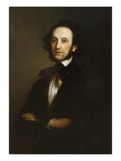 German composer Felix Mendelssohn (1809-1847)