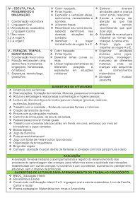 Planejamento Bimestral Para Educacao Infantil 03 Anos Alinhado A