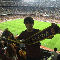 My first #football match! :) #LaLiga #barcelona #barca #messi