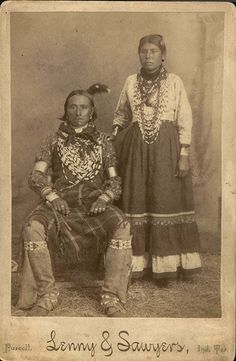 Indian Pictures: Potawatomi Indian Photographs