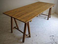 フランスアンティーク : 写真: フランスのアトリエテーブル。脚部分取り外せるので便利です。 http://www.hygge-sendai.com/commodity01.html | Sumally (サマリー)