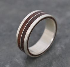 LadosLinea Nacascolo Ring wood and recycled by naturalezanica, $185.00