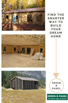 Having your own #home is a lifelong dream which can be achieved quickly and easily with #PrefabKits from greenrpanel.com