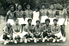 #ThrowbackThursday @netballworldcup Warm Up Series Theme! Here is T&T National Schools team 1972 !!! @England_Netball