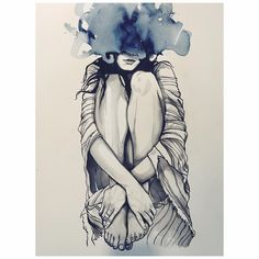 """Brandon Boyd on Instagram: """"'Poncho' Watercolor on paper. 
