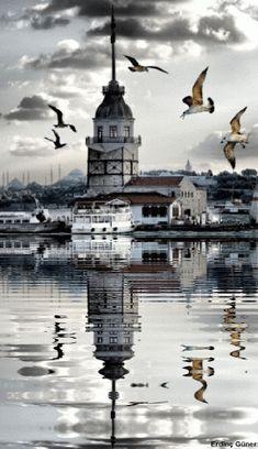 Google+Kız kulesi ıstanbul-Turkey