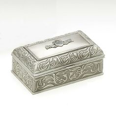 Mullingar Pewter Handcrafted Irish Claddagh Jewellery Box - Delivery from Ireland within 6-9 Days Mullingar Pewter,http://www.amazon.com/dp/B0093MMW48/ref=cm_sw_r_pi_dp_rPrntb1V61QX46GP