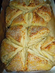 Щъркелово гнездо: Бюрек със сирене и кашкавал
