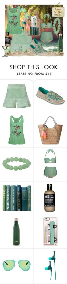 """""""She Just Retired After 1 Day On The Job As An Interior Decorator (actually she was fired after only 1 home set) Happy Weekend All"""" by sharee64 on Polyvore featuring Alexis, sanuk, Salt Life, Lilly Pulitzer, Lilliput & Felix, S'well, Casetify, Yves Saint Laurent, Skullcandy and Riedel"""