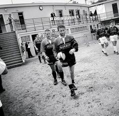Christophe Deylaud et l'équipe toulousaine en 1997