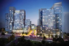 New future project in the WAN Mixed Use Award! Greensboro by FXFOWLE. (c) Greensboro. Tysons Corner, Virginia, United States