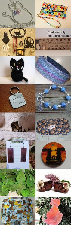 The Cat's Meow by Emily on Etsy #NationalCatDay #MaineTeam #giftideas