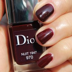Dior Vernis with gel finish : 970 Nuit 1947