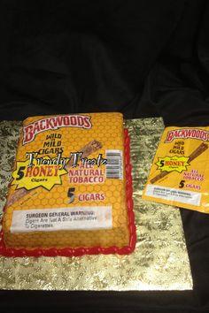 Backwood Cigar Cake by www.trendytreatz.com