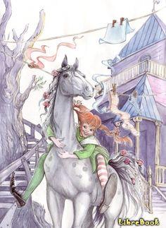 Читать бесплатно электронную книгу Пеппи Длинныйчулок (Pippi Longstocking: Pippi Långstrump). Астрид Линдгрен онлайн. Скачать в FB2, EPUB, MOBI - LibreBook.ru