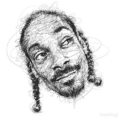 Drawing in pencil scribbles - Snoop Dogg by Vince Low Human Figure Sketches, Figure Sketching, Snoop Dogg, Vince Low, Art Sketches, Art Drawings, Scribble Art, Creation Art, Artist Supplies