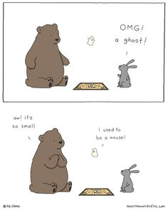 I can draw (sort of) © Liz Climo 2011 Funny Animal Comics, Animal Jokes, Funny Animal Memes, Funny Comics, Funny Animals, Cute Animals, Catwoman, Liz Climo Comics, Funny Images