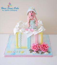 Christening cake - Cake by Sylwia Sobiegraj ( Have some cake by Sylwia Sobiegraj)