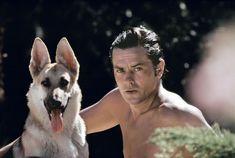 Alain Delon and his 35 dogs