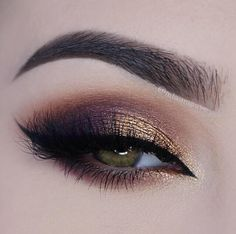 Too Faced Semi Sweet Chocolate Bar palette (Bon Bon, Peanut Butter, Truffled), MAC eyeshadow in Sorcery, Makeup Addictions pigment in Enchanted, Blinkingbeaute Samantha lashes