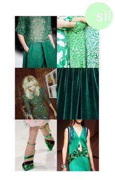 Pantone, verde esmeralda, invitadas, inspiración, boda, wedding, http://sialsiquiero.wordpress.com/
